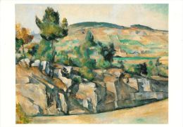 Cezanne, Paul  Mountains In Provence National Gallery London Art Postcard - Peintures & Tableaux