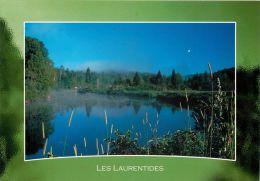 Val David Les Laurentides, Quebec QC, Canada Postcard  Used Posted To UK 2007 Stamp - Quebec