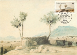Bophuthatswana Maximum Card Postcard Used Posted To UK 1986 Nice Stamp - Postcards