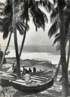 Beach Scene, Abakam Near Elmina, Ghana Postcard - Ghana - Gold Coast