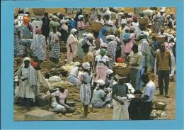 Calumbo - Dia De Mercado - Market - Marché - Costumes - Ethnic - Luanda - Angola - 2 SCANS - Angola