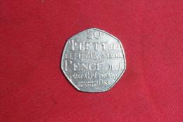 """50 Pence(Grande-Bretagne)Mem Orial Dictionnary"""" 2005 En SUP. - 1971-… : Monnaies Décimales"""
