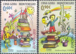 4.-  001 MONTENEGRO 2010. CHILDREN BOOKS - Montenegro