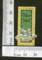 India 1950's Parfum Ideal French Print Vintage Perfume Label Multi-colour # 1608 - Labels