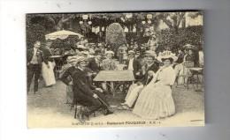 Cp , Reproduction , 37 , SAINT AVERTIN , Restaurant FOUQUEUX , Commerce , Ed : D.R. - Restaurants