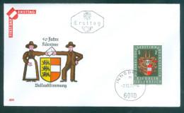 ÖSTERREICH - FDC Mi-Nr. 1343 - 50. Jahrestag Der Kärntner Volksabstimmung Stempel Innsbruck (1) - FDC