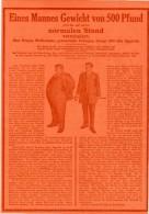 Original-Werbung/Inserat/ Anzeige 1912 - 1/1 SEITE : GEWICHTSMINDERUNG/RÜCKSEITE PEBECO ZAHNCREME Je Ca. 180 X 260  Mm - Publicités
