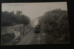 Francorchamps - Hockai/  Entrée Du Train En Gare - Spa