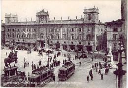 PIACENZA  Piazza Cavalli E Palazzo Ex Governatore TRAM - CAMPARI 1953  - LAL380 - Piacenza