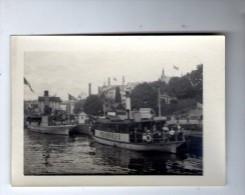 photographie , 9 x 6.5 cm , bateau