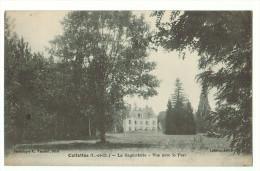 41b37CpaCELLETTES La Gagnotterie - Vue Prise Avec Le Parc 1920 , Ed C. Varnier  , Blois - Francia