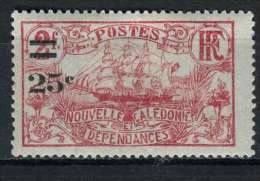 Nouvelle-Calédonie 1924-27 Y&T 128 * - Nouvelle-Calédonie