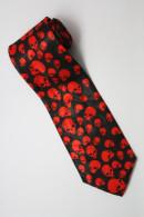 Halloween Symbol Skull RED Silk Cartoon Novelty Fancy NECK TIE - Other Collections