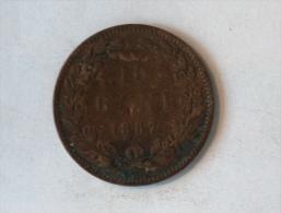 ROUMANIE 10 BANI 1867 - Roumanie