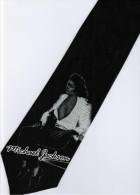 Michael Jackson MJ Super Star Singer King Of Pop #2 Silk Cartoon Novelty Fancy NECK TIE - Other Collections