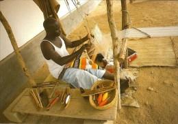 2 AK *!* Tschad *!* Menschen aus dem Tschad bei der Arbeit *!*