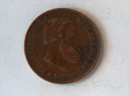 BREZIL 20 REIS 1869 - Brésil