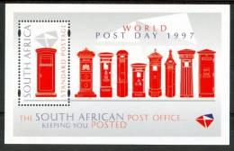 1997 Sud Africa Uffici Postali Post Office Block MNH** Spa112 - Blocchi & Foglietti