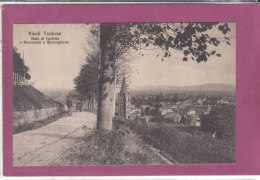 RIVOLI TORINESE .- Vial Al Castelo E Panorama A Mezzogiorno - Otros