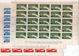 BULGARIA / Bulgarie 1961 Universiade Perforate 6v. – MNH  6 Sheet (5x5=25 Set) - Francobolli