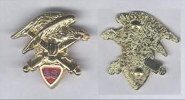 Insigne Du 93e Régiment D'Artillerie De Montagne ( Translucide ) - Esercito