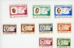 Yemen-YAR-1966-Dag Hammarskjold-Kennedy-Nehr U-....MI 475/83***MNH-VALEUR 7 EURO - Dag Hammarskjöld