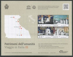 SAN MARINO  2013 - FOGLIETTO PATRIMONI DELL'UMANITA' VIAGGIO IN ITALIA - MNH** 168 - San Marino