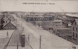 80] Somme > Fort Mahon - Fort-Mahon-Plage (Somme) – Panorama. - Hôtel De Paris - (Marcophilie). -  (voir Scan). - Fort Mahon