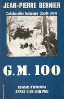 G.M. 100 GROUPE MOBILE GUERRE INDOCHINE APRES DIEN BIEN PHU BATAILLON COREE CAMP AN KHE