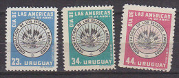 J0788 - URUGUAY AERIENNE Yv N°162/64 ** - Uruguay
