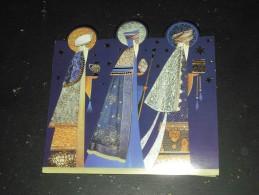 CARTE DE NOEL AVEC ROIS MAGES - GRANDE BRETAGNE - - Weihnachten