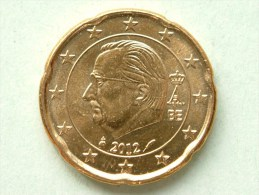 2012 - 20 Eurocent ( For Grade, Please See Photo ) ! - Belgique