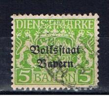DR Bayern 1919 Mi 31 Dienstmarke - Bavaria