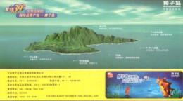 Zhangzi Islands  N39 Sea ,    Prepaid Card, Postal Stationery - Islands