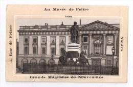 Chromos, AU MUSEE DE FELTRE - GRANDS MAGASINS DE NOUVEAUTES - NANTES (REIMS Statue De Louis XV) - Chromos