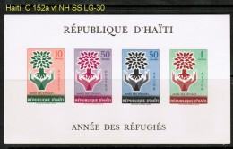 HAITI    Scott  # C 152a**  VF MINT NH SOUVENIR SHEET - Haiti