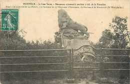 Fev14 589: Vionville  -  Lion Saxon - France
