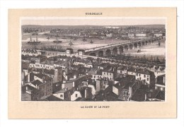 Chromos, MERCERIE CENTRALE DE NIORT, J. LAURENT, Annexe Et Fabrication De Lingerie, (BORDEAUX, La Rade Et Le Pont) - Chromos