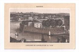 Chromos, MERCERIE CENTRALE DE NIORT, J. LAURENT, Annexe Et Fabrication De Lingerie, (BAYONNE, Confluent De L'Adour...) - Chromos
