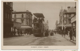 Hobart Elizabeth Street Tram Close Up Edit J. Walch - Hobart