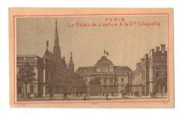 IMAGES, PARIS, Le Palais De Justice Et La Ste Chapelle, Vierge - Vieux Papiers