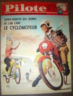 JOURNAL PILOTE ASTERIX 170 1963 CYCLOMOTEUR  PILOTORAMA LES TOUAREG - Pilote