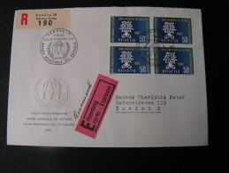 == CH R-Express  FDC ? 1960  MeF - Cartas