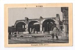 Chromos, GRAND HOTEL DES VOYAGEURS - Léon PICARD, Propriétaire, (ROME, Tempio Della Pace) - Chromos