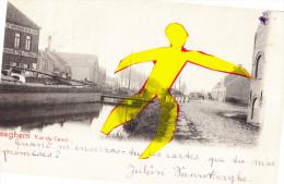 ISEGHEM - Vue Du Canal - Avec Péniche - Izegem