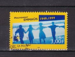 FRANCE / 1999 / Y&T N° 3282 : Mouvement Emmaüs - Choisi - Cachet Rond - Frankreich
