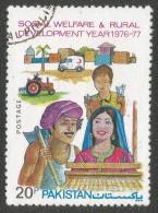 Pakistan. 1977 Social Welfare And Rural Development Year. 20p Used - Pakistan