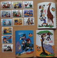 Tanzania 1994 Walt Disney Mickey Mouse Safari Club Girafe Elephant Dog Chien Duck 12 Stamps + 3 Souvenir Sheets MNH** - Tansania (1964-...)