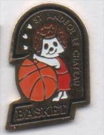 Basket , Saint Andéol Le Château , Rhône - Basketball