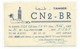 TANGER  Amateur Radio -  CN2-BR - 1960 - Radio Amateur
